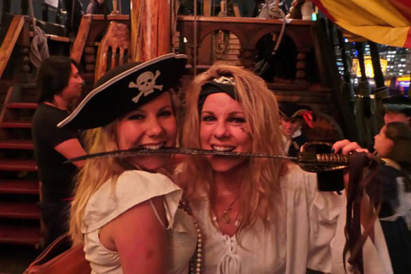 Pirate Murder Mystery social in London