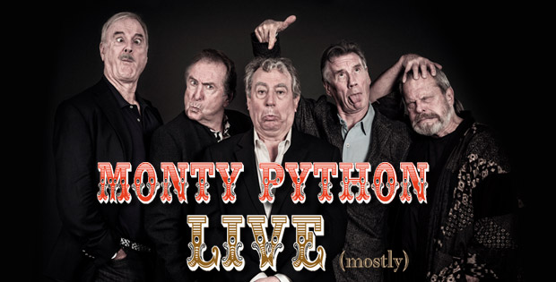 Monty Python – Live (mostly)! in the cinema