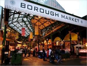 Thinking bob head to Borough Market