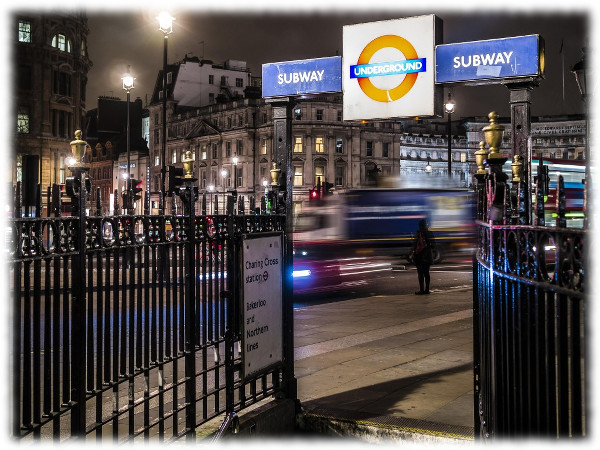 Lonely in London? The city can be empty at night!