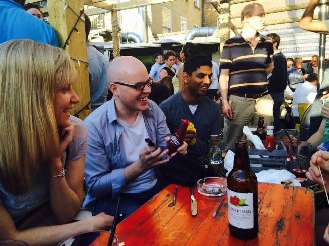 Summer social in the pub - London