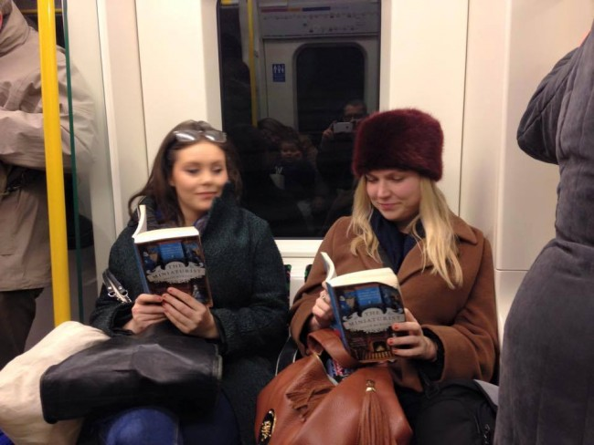 Reading on the tube: book club London