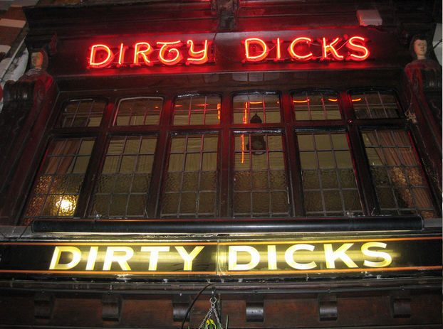 Dirty Dicks pub, London