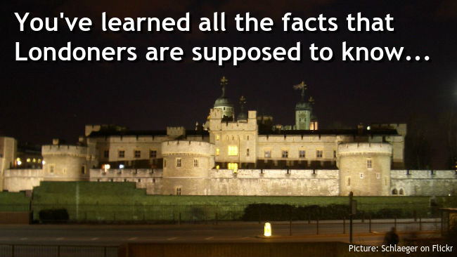 Tower of London at night (Picture credit: schlaeger on Flickr)