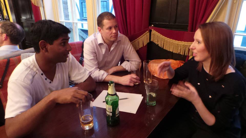 Debating social in London