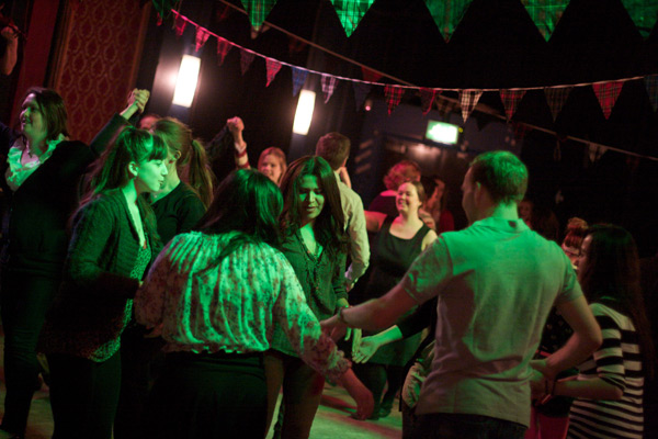 A night of dance: Ceilidh