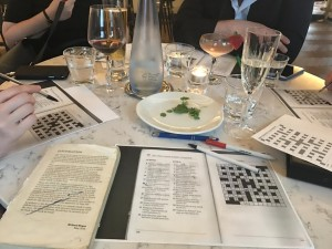 How to: Cryptic Crosswords @ The Mitre Lancaster Gate | England | United Kingdom