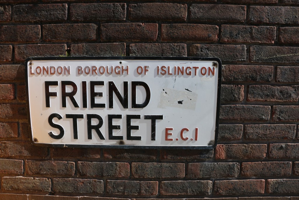 Friend Street, Islington, London