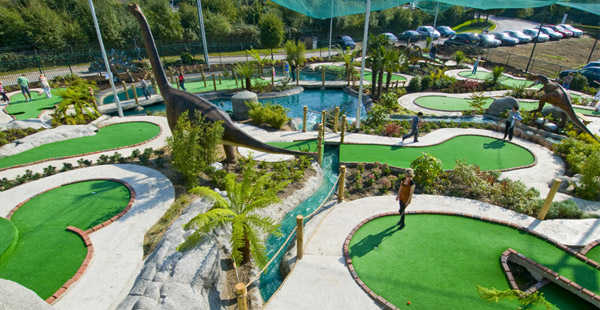 Jurassic Encounter Adventure Golf
