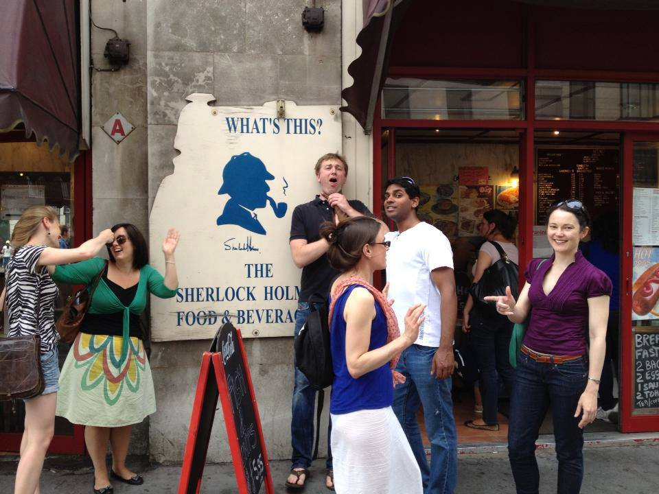 Deduction: Sherlock Holmes treasure hunt in London