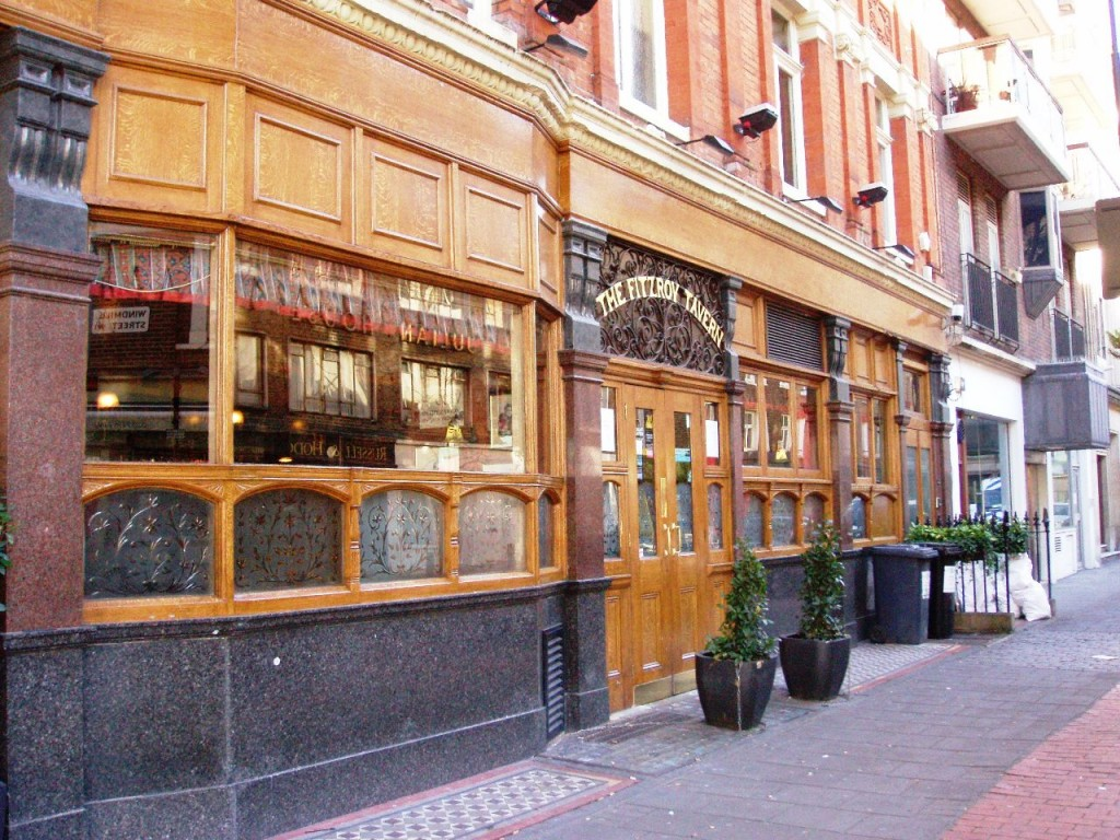 The Fitzroy Tavern, 16a Charlotte Street, London