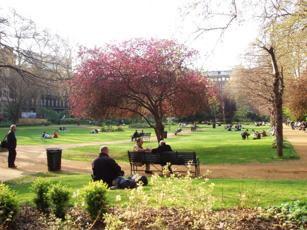 Gordon Square, Bloomsbury, London