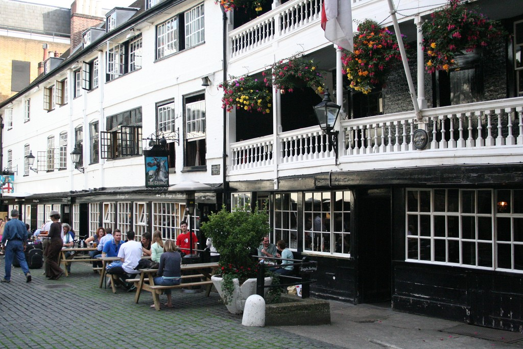 The George Inn Yard, Borough High Street