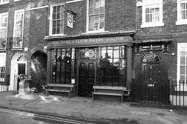 The Jerusalem Tavern, Farringdon, London