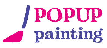 Pop Up Painting Logo