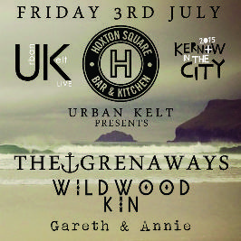 The sweet sound and taste of Cornwall in the city! @ The Hoxton Bar and Grill | London | United Kingdom