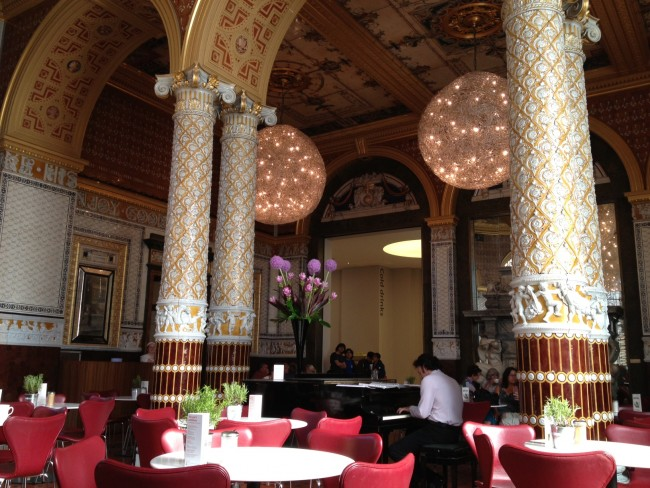 V&A Cafe, London