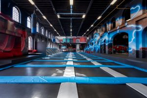 Budding Bob: Trampoline Park @ ICON Outlet at The O2: Oxygen Freejumping | England | United Kingdom
