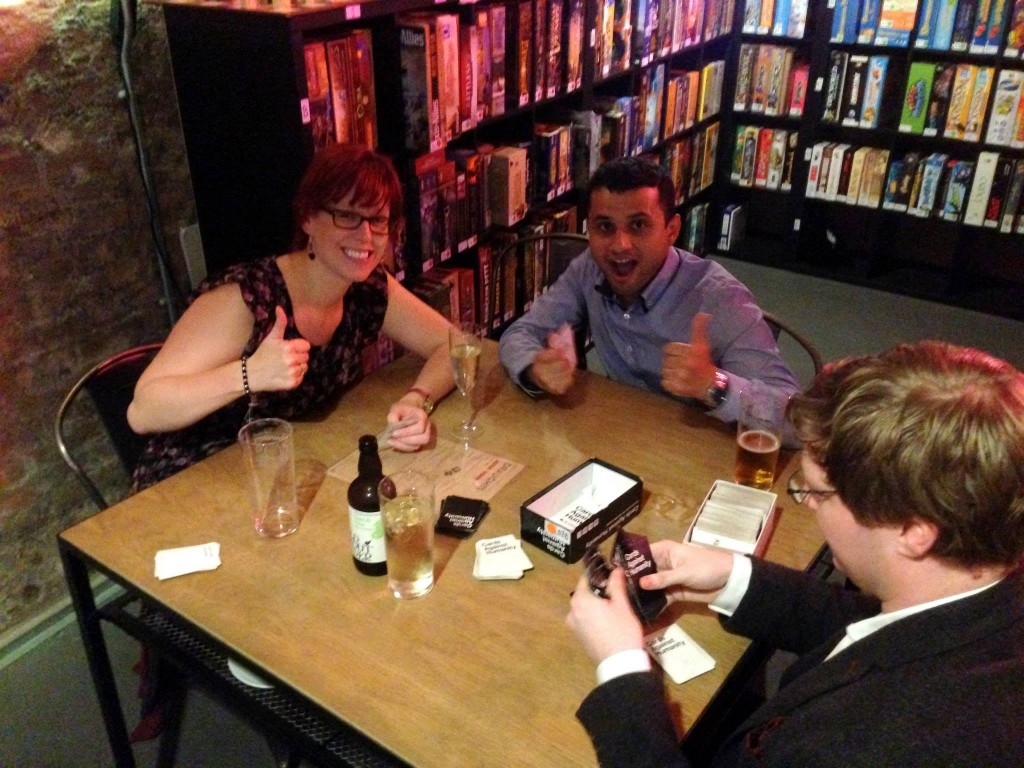 Cards against Humanity at Draughts