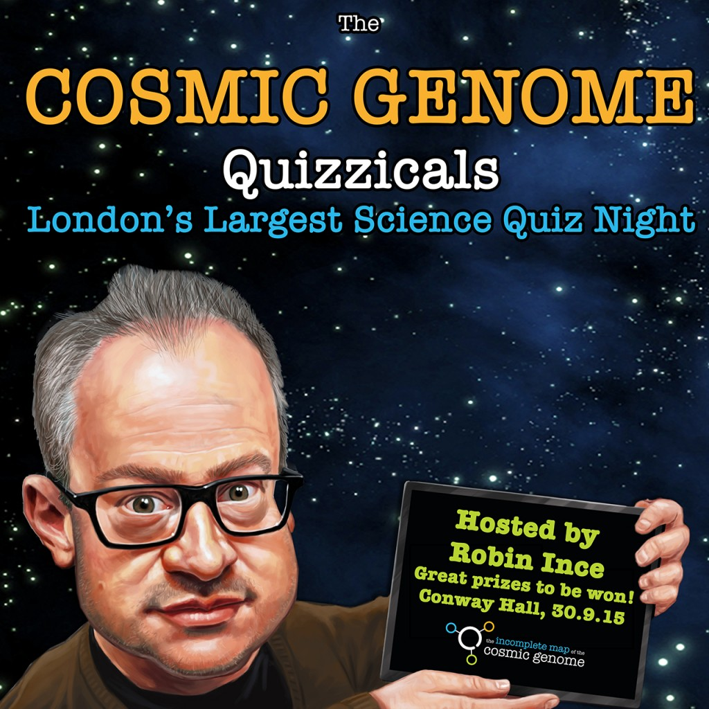 Cosmic Genome Quizzicals at Conway Hall