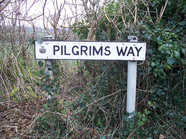 Pilgrims way Hollingbourne