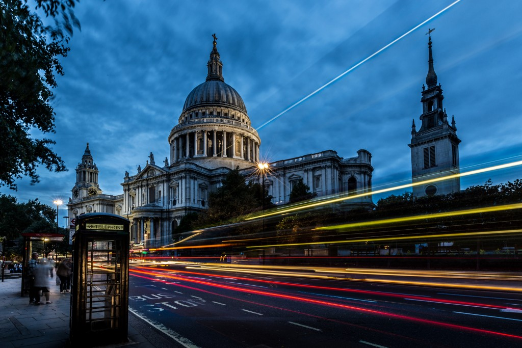 St Paul's cathedral London long exposure