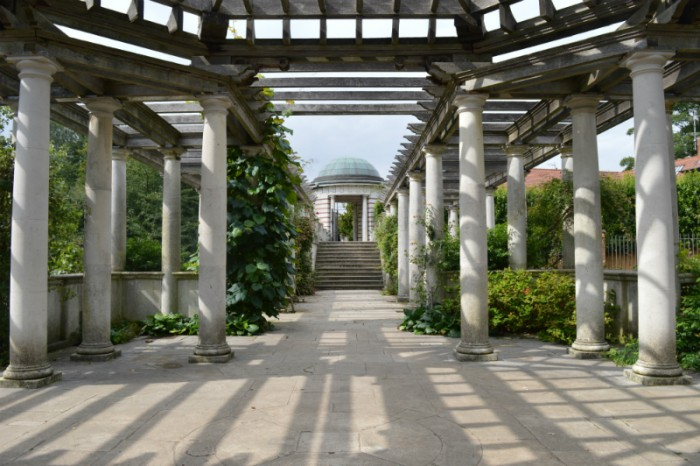 Hampstead Heath Hill Garden and Pergola