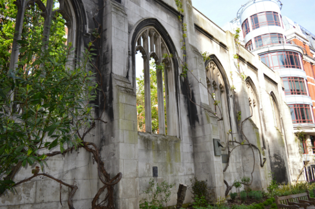 st dunstan in the east church garden, london