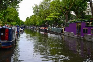 Sunday Stroll along Regents Canal @ Warwick Avenue Station | London | United Kingdom