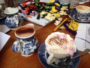 Craft and Conversation! @ Mad Hatter's Cafe | London | United Kingdom