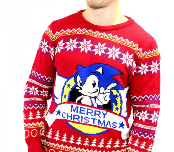 sonic christmas jumper