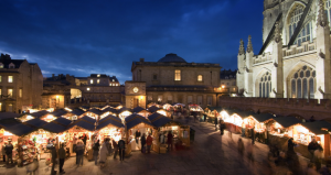 Day Trip to Bath Christmas Market! @ Bath Spa Station | Bath | England | United Kingdom