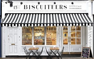 Afternoon tea at Biscuiteers Cafe @ Biscuiteers Boutique and Icing Café | England | United Kingdom