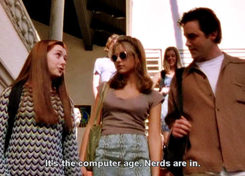 Geeky in the 90s