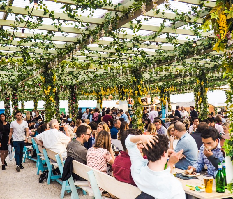 Rooftops and Beer Gardens in London