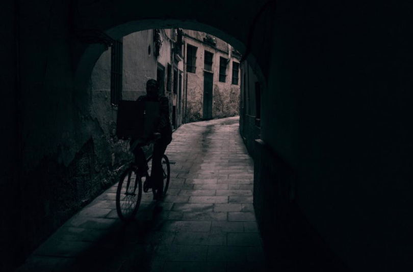 https://www.pexels.com/photo/alley-bicycle-bike-biking-609687/