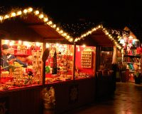 Southbank Christmas Market Stroll