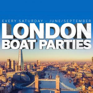 Bob Summer Boat Party @ Crown Pier Directions, Victoria Embankment | England | United Kingdom